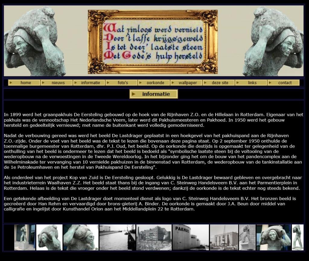 Lastdrager website informatie